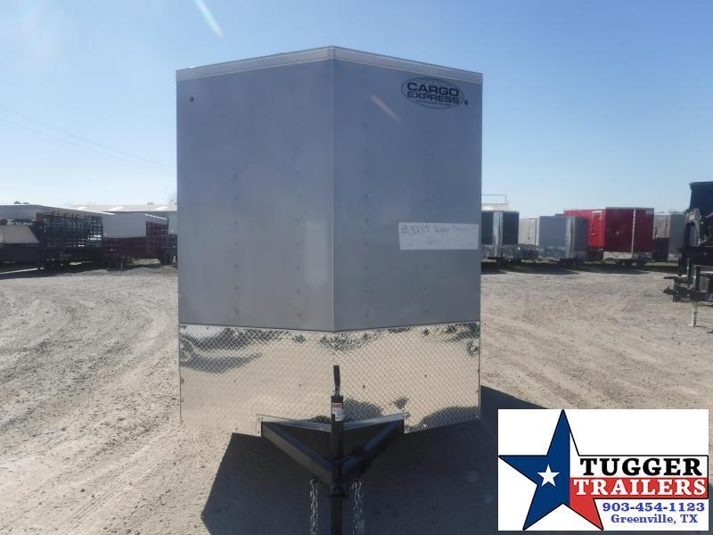2021 Cargo Express 6x12 12ft Utility Tool Lawn Work Storage Side ATV Enclosed Cargo Trailer
