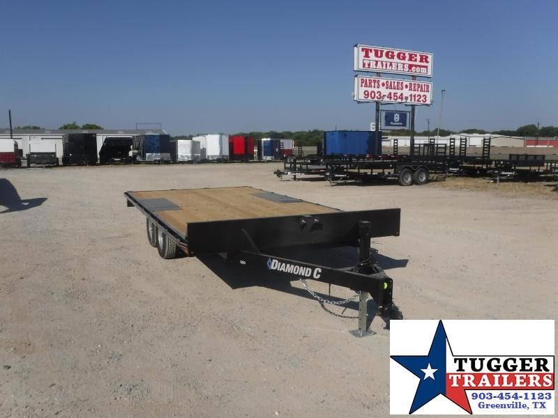 2020 Diamond C Trailers 102x16 16ft Deck Over Flatbed Utility Farm Toy Equipment Trailer