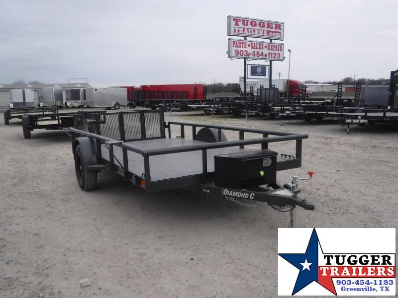 2021 Diamond C Trailers 77x12 12ft PSA Open Toy Side Work Move Travel AG Utility Trailer
