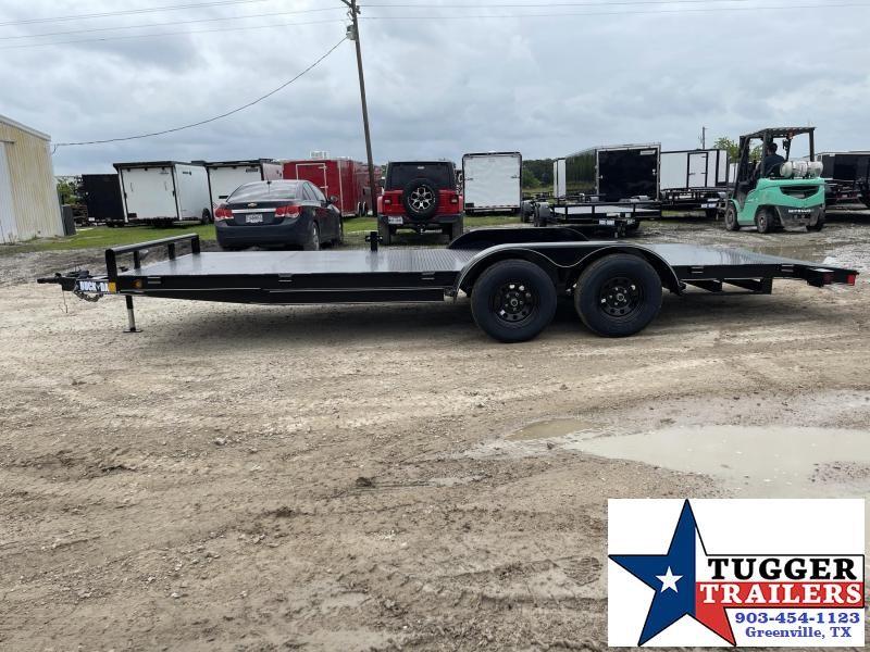 2021 Buck Dandy FLATBED CAR HAULER Flatbed Trailer