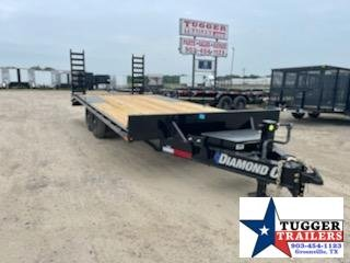 2021 Diamond C Trailers 102x20 Flatbed Equipment Trailer