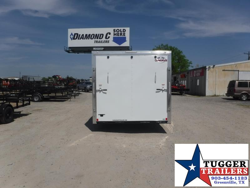 2021 Cargo Mate 8.5x20 20ft Work Tool Equipment Move Utility Trailer