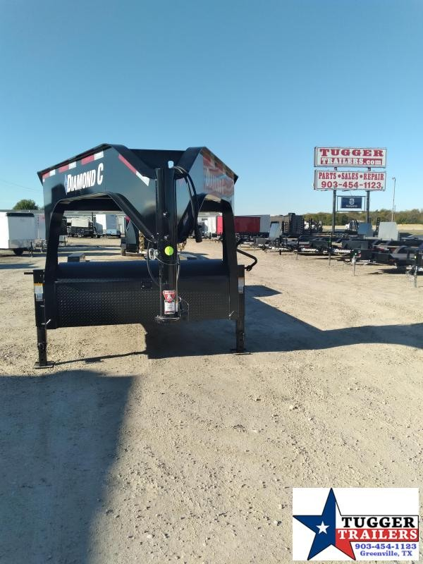 2021 Diamond C Trailers 24x82 HDT Dampened Tilt Trailer W/Frame Upgrade Equipment Trailer