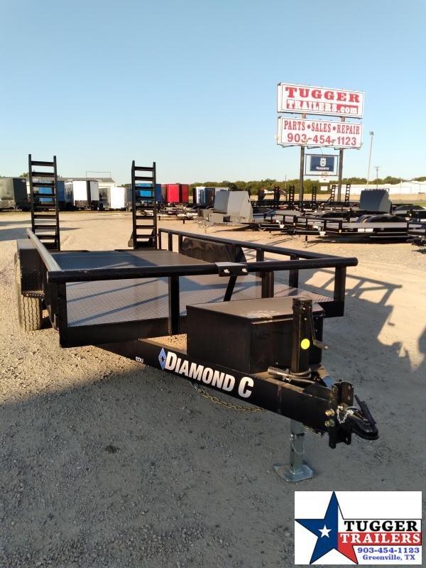 2021 Diamond C Trailers 82x16 16ft EDU Work Farm Equipment Construction Utility Trailer