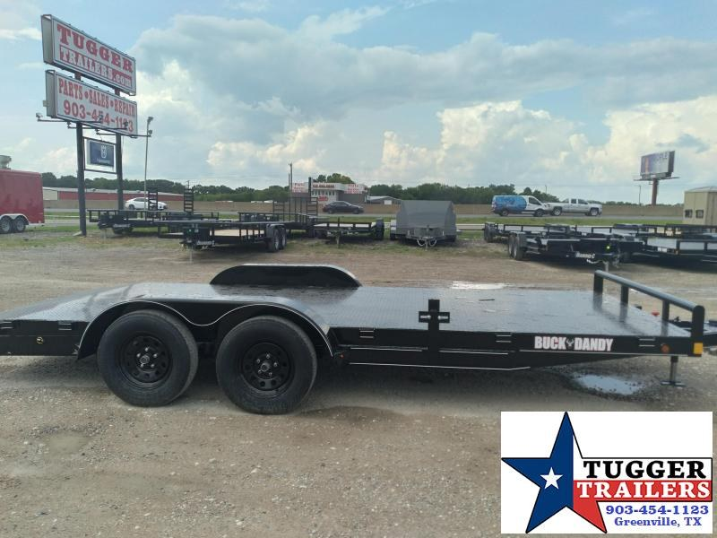 2020 Buck Dandy 83x18 18ft BCH Auto Steel Flatbed Utility Open Car / Racing Trailer
