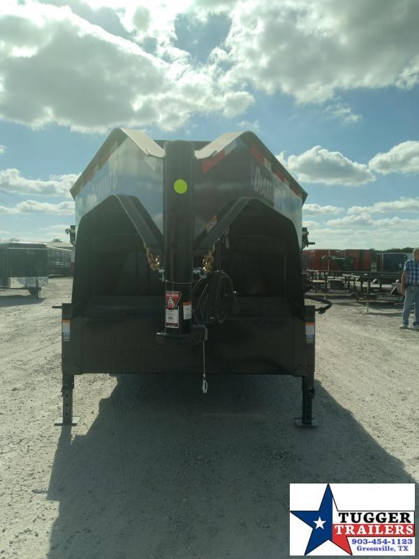 2021 Diamond C Trailers 82x16 16ft LPD Steel Heavy Duty Farm Equipment Dump Trailer