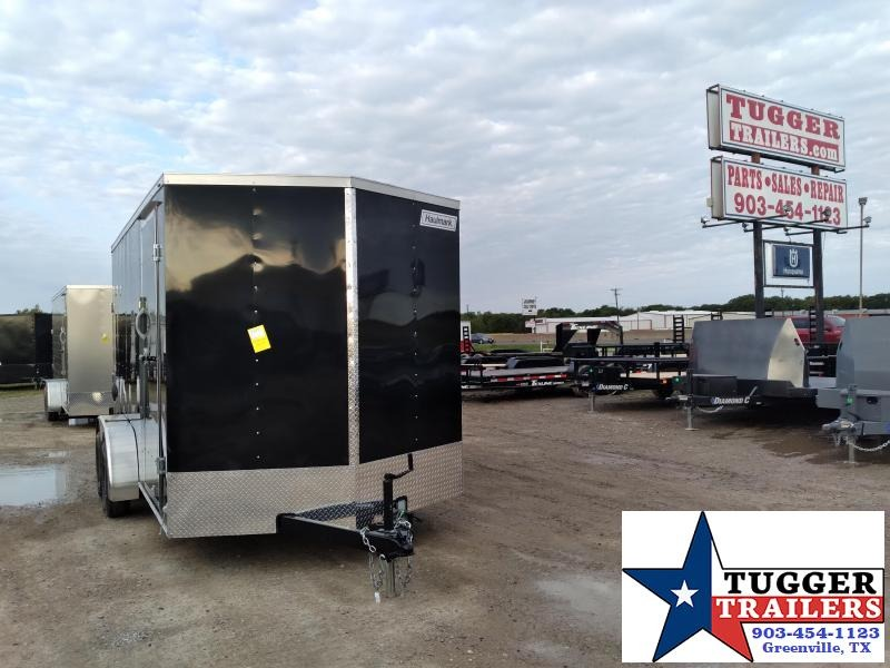 2021 Haulmark 7x14 14ft Passport Utility Toy Side Work Tools Enclosed Cargo Trailer