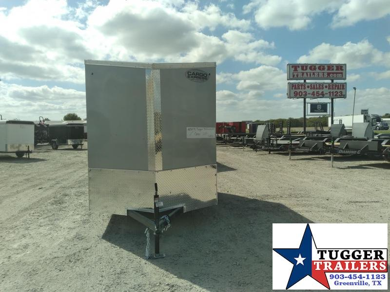 2021 Cargo Express 6x10 10ft Utility Tool Lawn Work Storage Side ATV Cargo Enclosed Trailer
