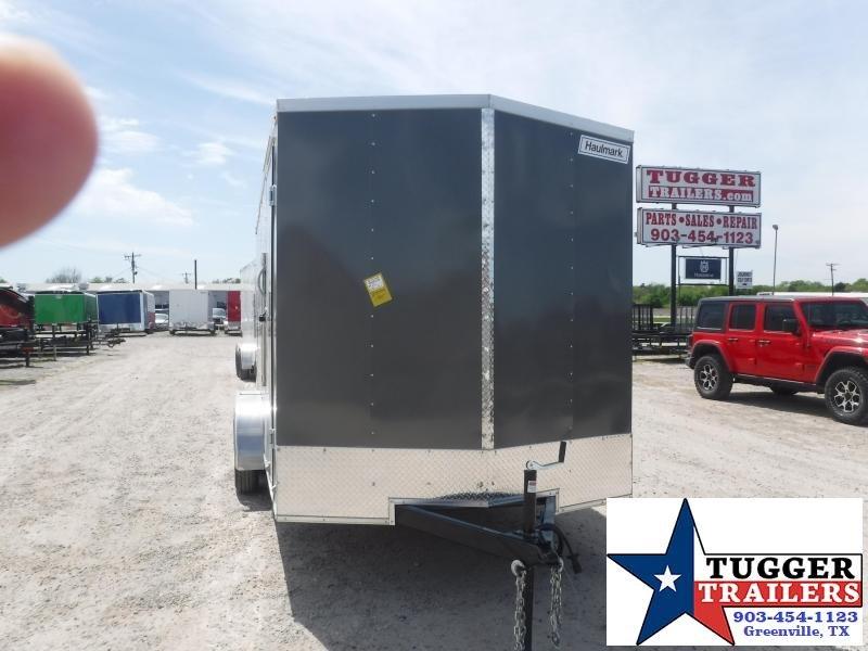 2021 Haulmark 7x16 16ft Utility Toy Work Boutique Tool Mow Zero Enclosed Cargo Trailer