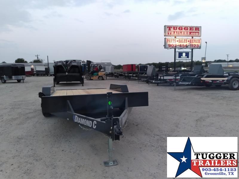 2021 Diamond C Trailers 82x16 16ft EQT Steel Heavy Duty Work Construction Equipment Trailer