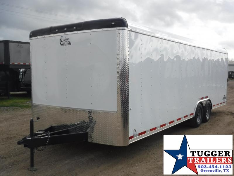 2020 Cargo Craft 8.5x24 24ft Auto Mobile Classic Enclosed Cargo Car / Racing Trailer