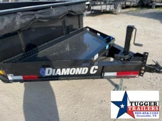 "2021 Diamond C Trailers 82""X14 Dump Trailer"