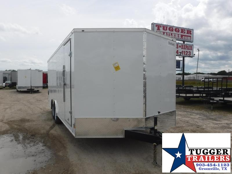 2021 Haulmark 8.5x20 20ft Office Toy Side Car Enclosed Cargo Trailer