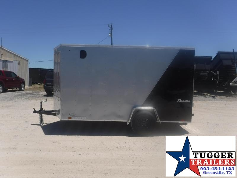 2021 Cargo Express 6x12 12ft V-Nose Utility Box Sport Tailgate Toy Enclosed Cargo Trailer