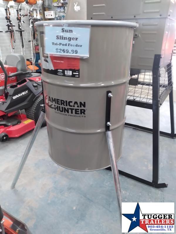 2021 American Hunter Tripod Feeder w/Sunslinger