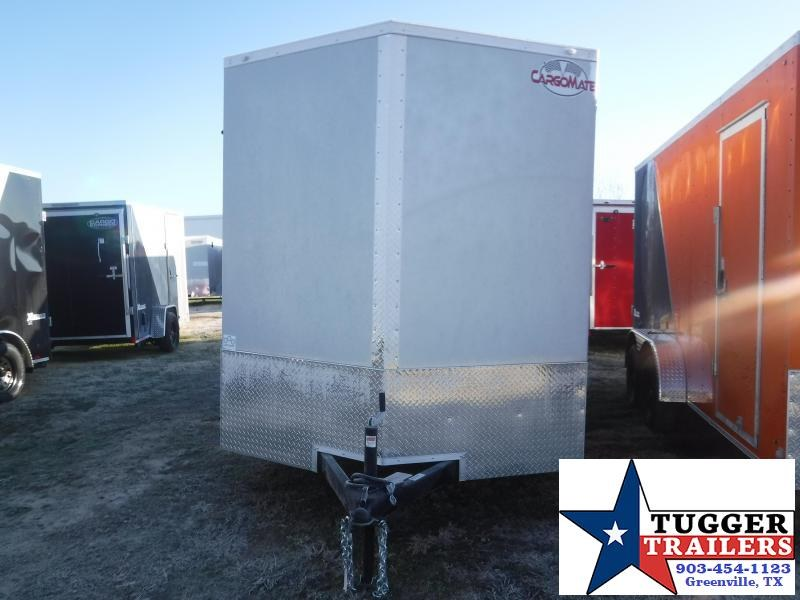 2021 Cargo Mate 7x14 14ft Utility Toy Side Camp Work Tool Hunt Enclosed Cargo Trailer