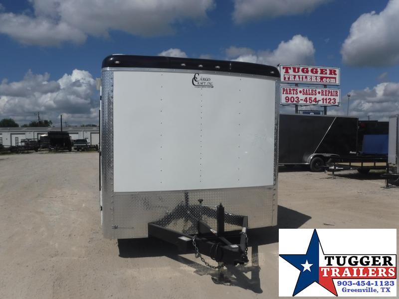 2020 Cargo Craft 8.5x20 20ft Expedition Utility Box Toy Side Work Enclosed Cargo Trailer