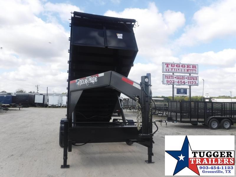 2022 Texas Pride Trailers 7x18x4 DT71821KGN Dump Trailer