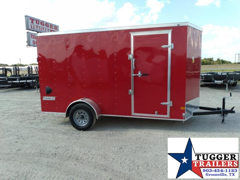 2021 Haulmark 6x12 12ft Utility Side Tool Landscape Move Band Cargo / Enclosed Trailer