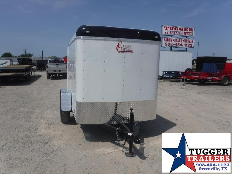 2020 Cargo Craft 5x8 8ft Explorer Box Utility Travel Bike Work Enclosed Cargo Trailer