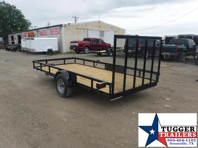 2020 TexLine 77x14 14ft Toy Camp Move Open Flatbed Travel Utility Trailer