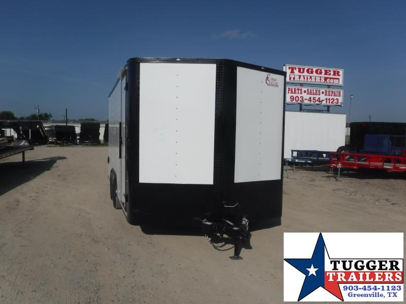 2020 Cargo Craft 8.5x16 16ft Black Out Toy Side Four ATV UTV Enclosed Cargo Trailer