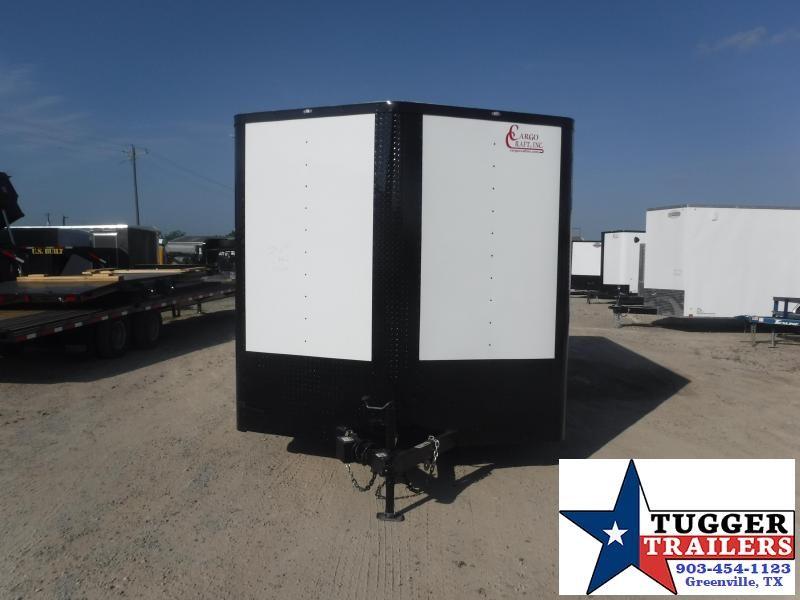 2020 Cargo Craft 8.5x16 16ft Black Out Toy Side Four ATV UTV Enclosed Cargo Trailer
