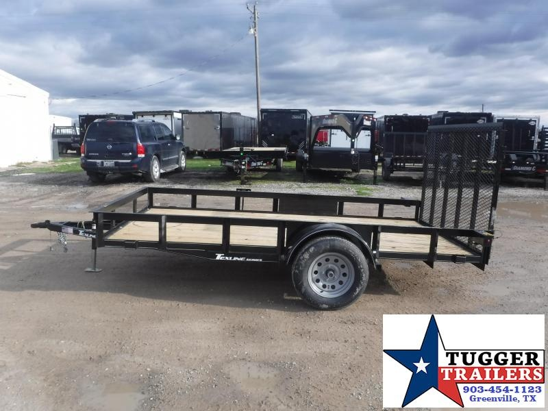 2021 TexLine 77x12 12ft Bike Mow Camp Move Sport Tailgate Four Utility Trailer