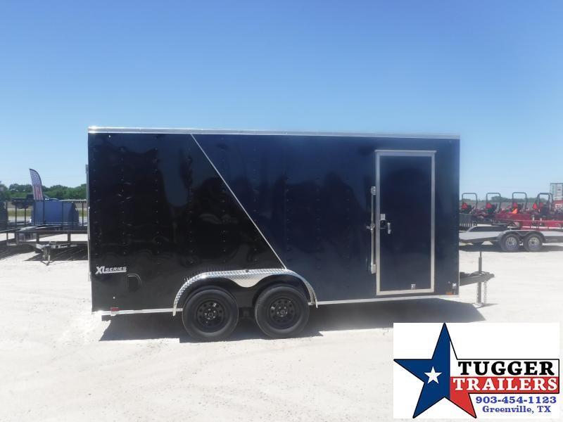 2021 Cargo Express 7x16 16ft V-Nose Utility Toy Sport Box Bike Moto Enclosed Cargo Trailer