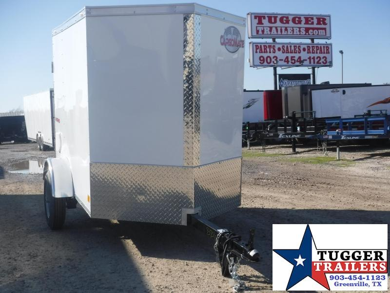 "2020 Cargo Mate 4' X 6"" Enclosed Cargo Trailer"