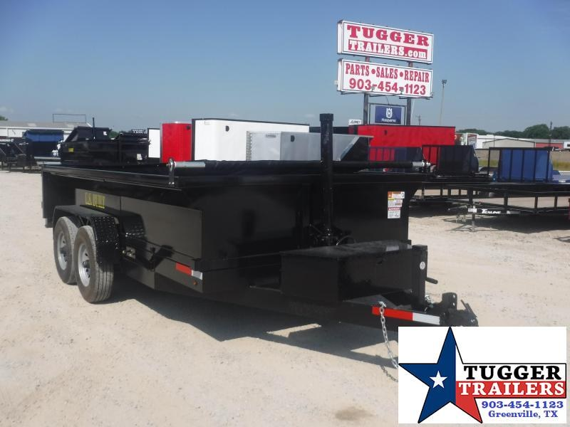 2020 Texas Pride Trailers 7x14 14ft Telescoping Steel Heavy Duty Utility Dump Trailer