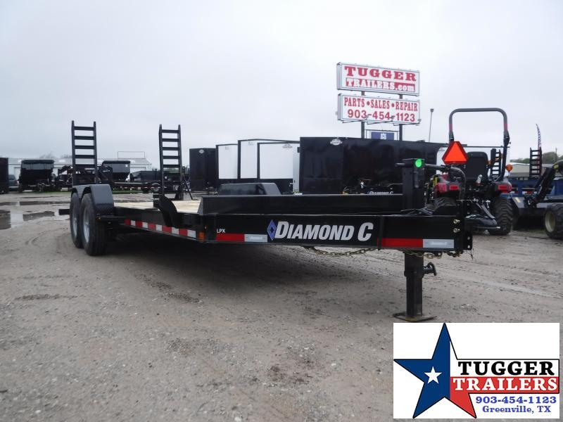 2020 Diamond C Trailers 82x20 20' LPX Steel Heavy Duty Utility Open Equipment Trailer