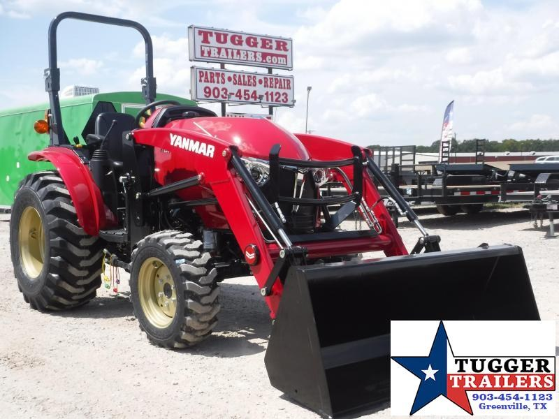 2020 Yanmar 4x4 YT 235 Tractor and Loader!
