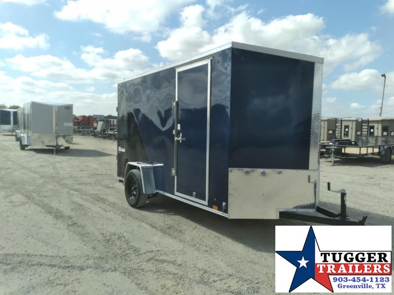2021 Cargo Express 6x12 12ft Utility Side Toy Work Landscape Tool Cargo Enclosed Trailer