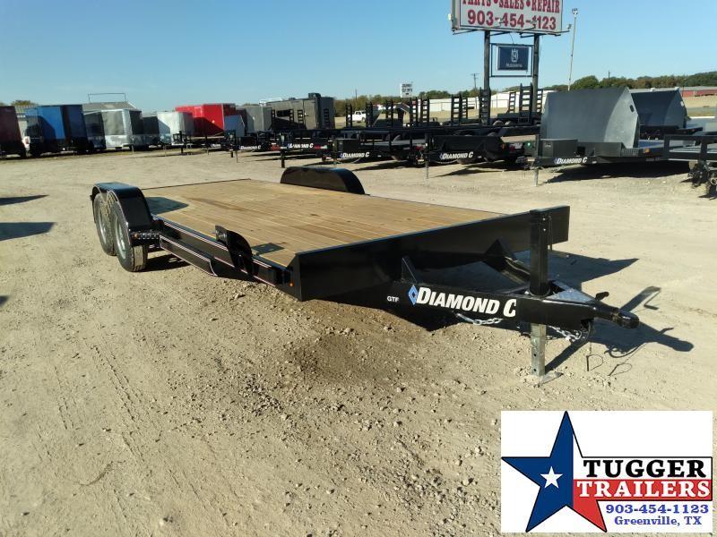 2021 Diamond C Trailers 20x83 GTF Flatbed Auto Mobile Toy Heavy Duty Work Car / Racing Trailer