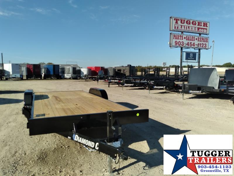 2021 Diamond C Trailers 20x83 GTF Flatbed Tilt Heavy Duty Work Car / Racing Trailer