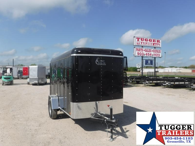 2021 Cargo Craft 5x10 10ft Work Travel Bike Camp Move Utility Enclosed Cargo Trailer