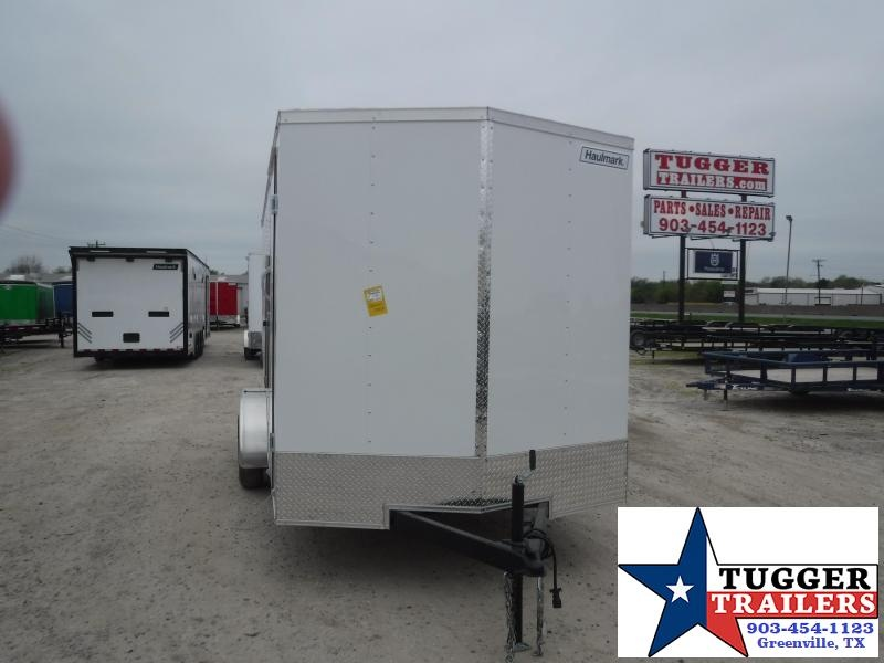 2021 Haulmark 7x16 16ft Utility Box Toy Side Work Tool Hunt Enclosed Cargo Trailer