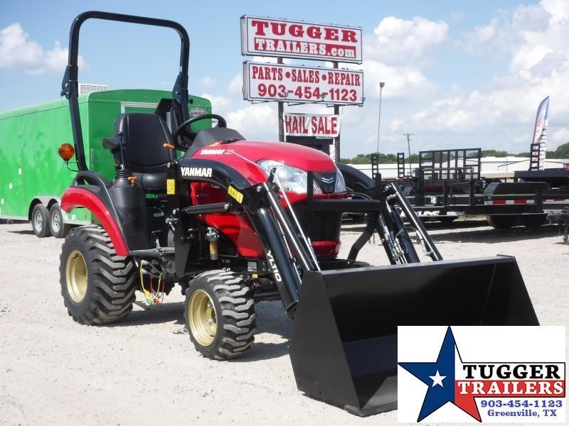 2020 Yanmar USA SA 221 Tractor and Loader!