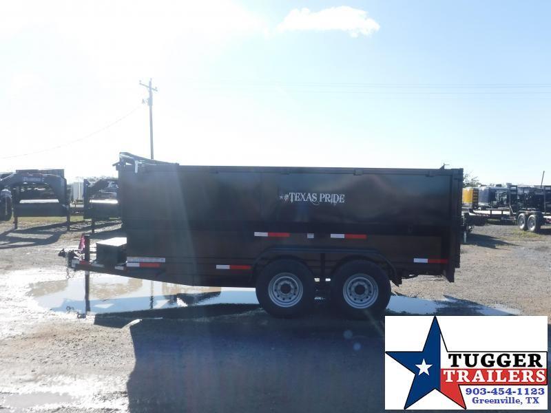 2022 Texas Pride Trailers DT714414KBP 7x14x4 Dump Trailer