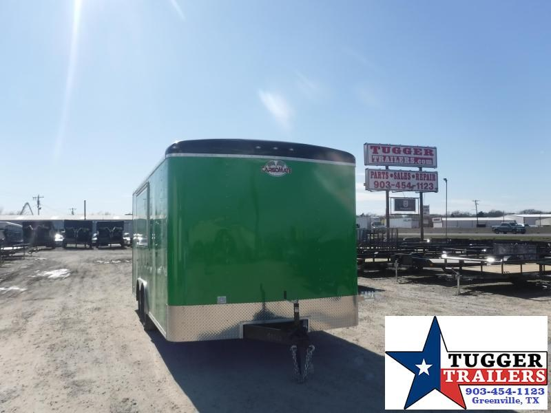 2021 Cargo Mate 8.5x16 16ft Utility Food Taco Street BBQ Ice Vending / Concession Trailer