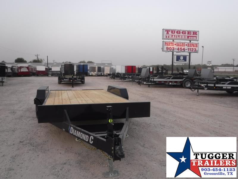 2021 Diamond C Trailers 82x16 RoadClipper Flatbed Flatbed Trailer