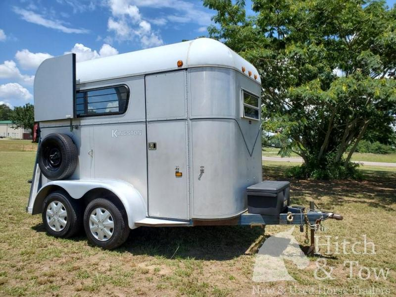 1991 Kingston Trailers Inc. Classic Horse Trailer