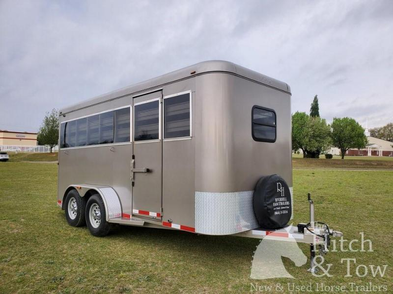 2018 Adam Stock Horse Trailer