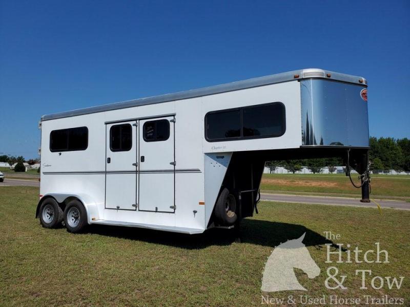 2012 Sundowner Trailers Charter SE Horse Trailer
