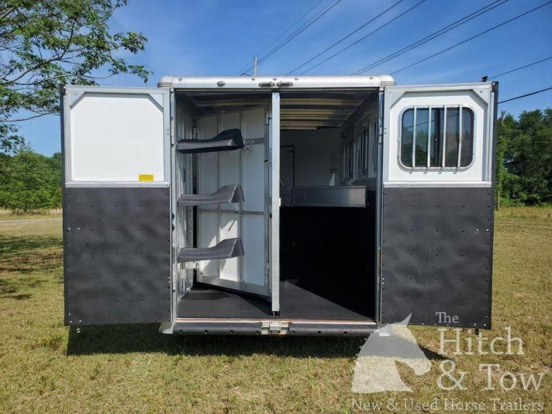 2016 Sundowner Trailers Horizon 6906 RS Horse Trailer
