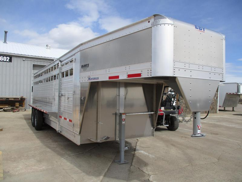 2019 Eby Trailers Maverick Livestock Trailer 7 X 24