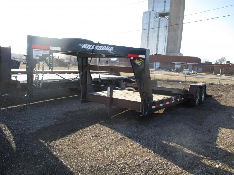 2015 Hillsboro Industries Tilt bed Flatbed Trailer