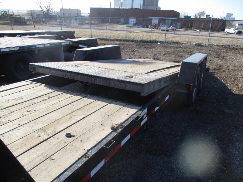 2015 Hillsboro Industries Tilt bed Flatbed Trailer