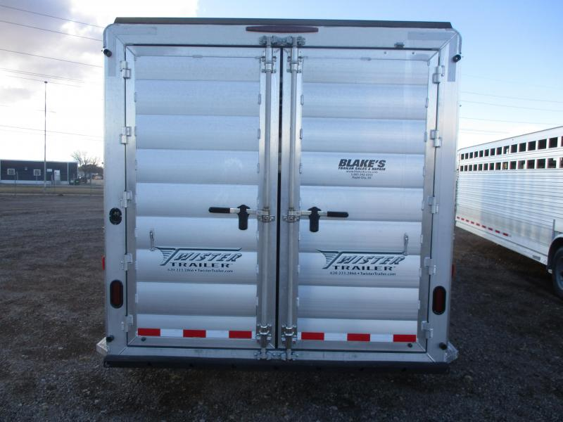 2021 Twister Stock Combo Livestock Trailer